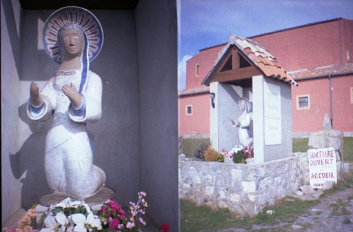 Our Lady of Graces, in Utelle (Vésubie Valley), France