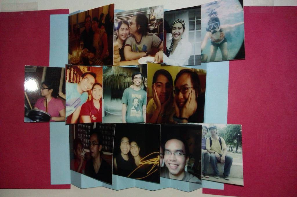 How to Make an Accordion PhotoWall