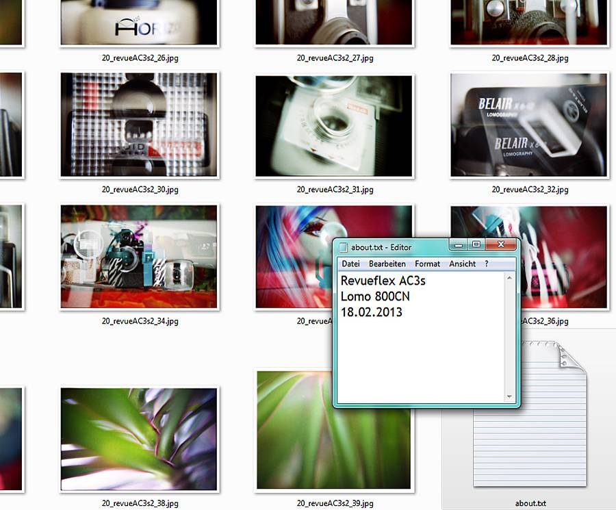 Archiving of Your Negatives, Photos and Files on Your Computer