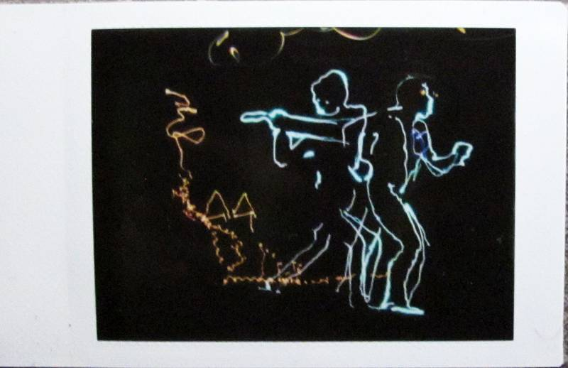Awesome Light Painting Lomographs Shot Using the Diana Instant Back+