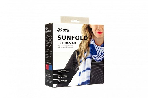Use Sun's Rays and Start Creating Your Own Designs Using Lumi Sunfold Printing Kit!