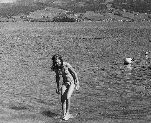 Basking at the Beach: Swimming in the Alpine Lakes