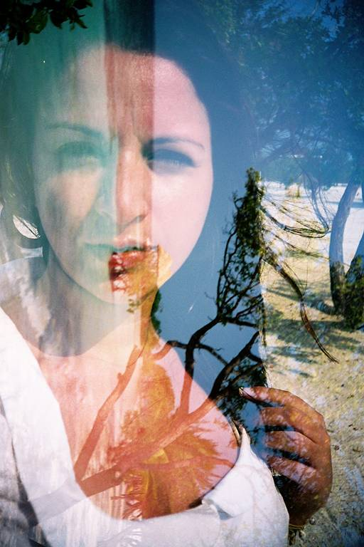 Keren Fedida shooting with the Lomo LC-A+