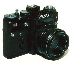 Zenit 11: Handy Russian SLR On-The-Go!