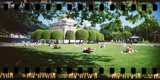 Lomography Milestone: Fun Times With My SprockFEET Rocket!