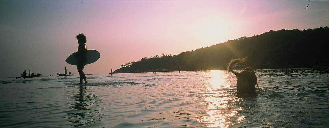 Around the World in Analogue: Koh Tao, a Paradise in Panoramas