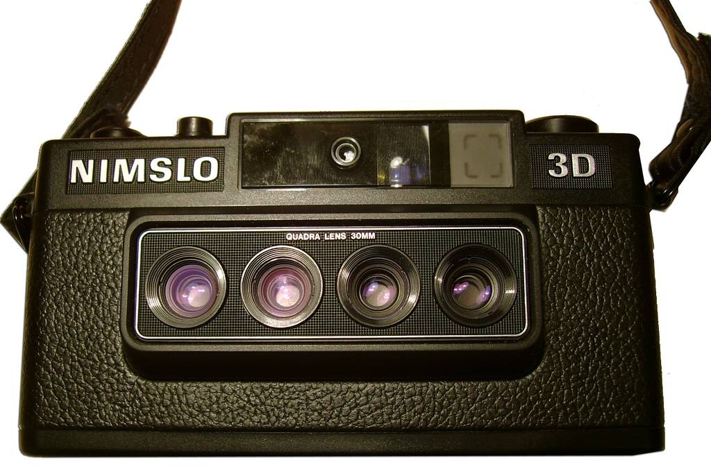 Reviewing the Nimslo 3D Camera