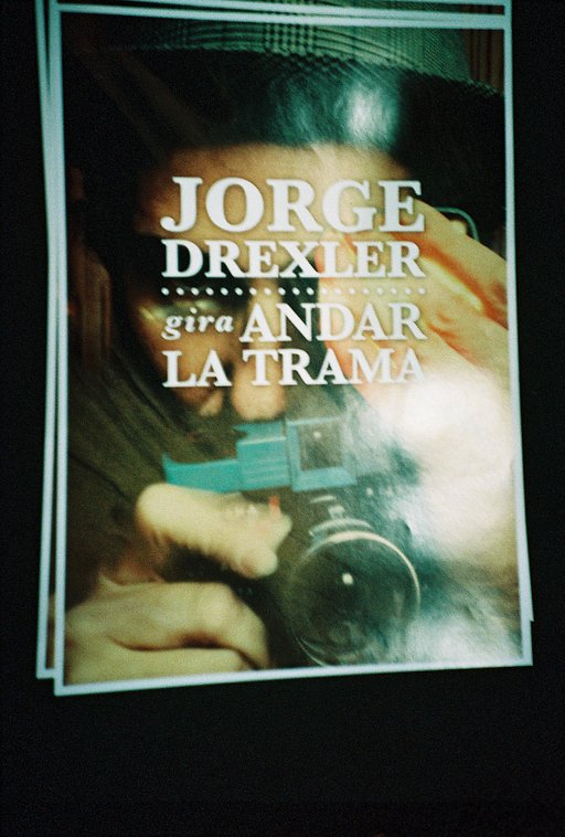 Jorge Drexler and his Diana F+
