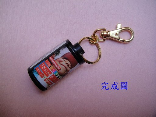 Lomography Film Canister Keychain