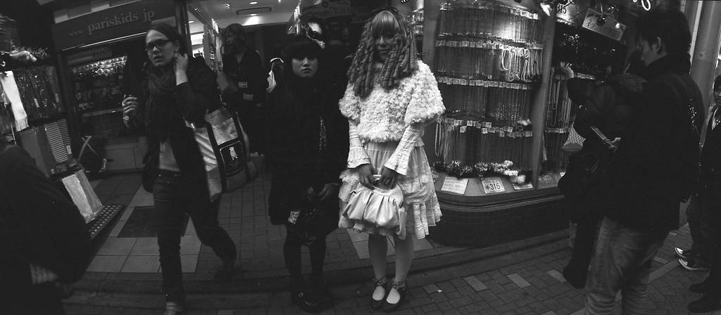 Gothic Lolitas and Japanese Rockabillies.