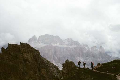 Around the World in Analogue: Dolomite Alps