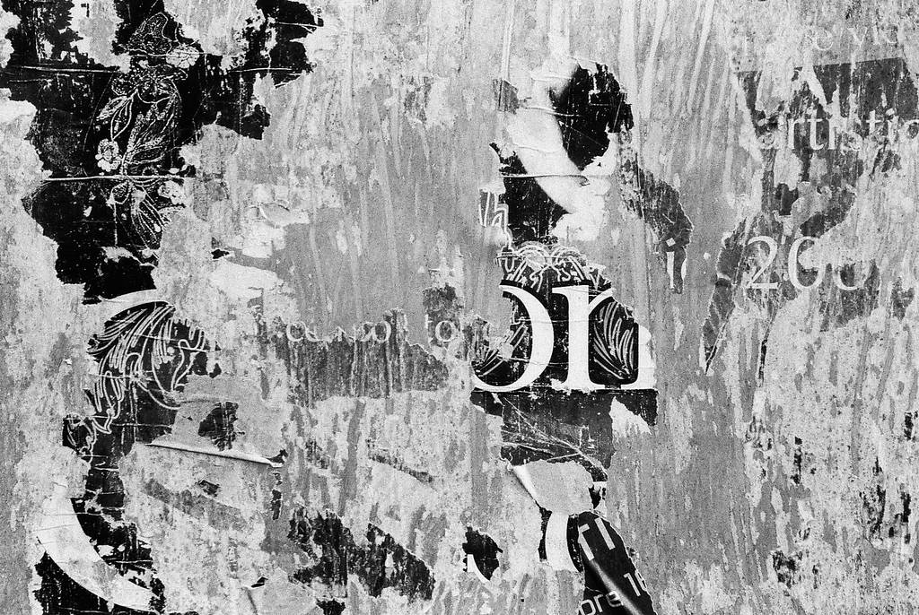 A Salute to the Masters: Unstuck Posters (A Tribute to Aaron Siskind)