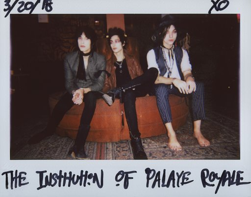 Mit Palaye Royale hinter den Kulissen in New York City