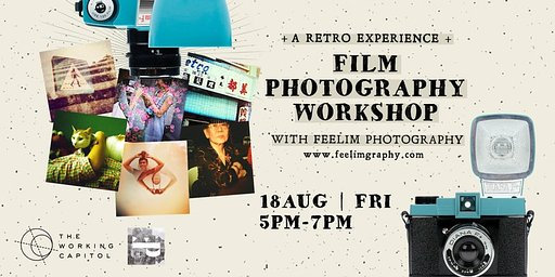 Film Thru the Diana F+: A Retro Experience - Film Photography Workshop in Singapore