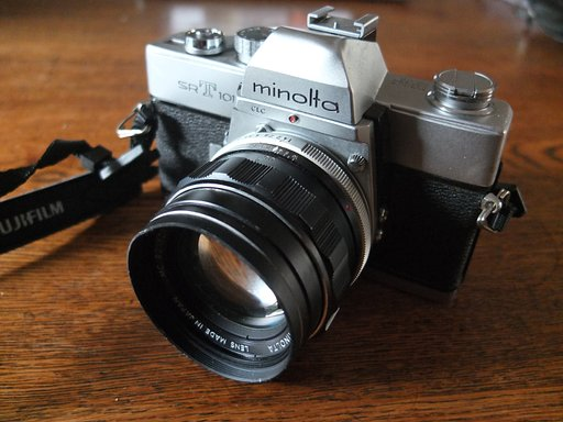 Back to Basics with the Minolta SRT-101 SLR Camera