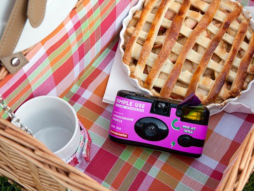 Grab This Portable Purple Simple Use Camera Reload Bundle!