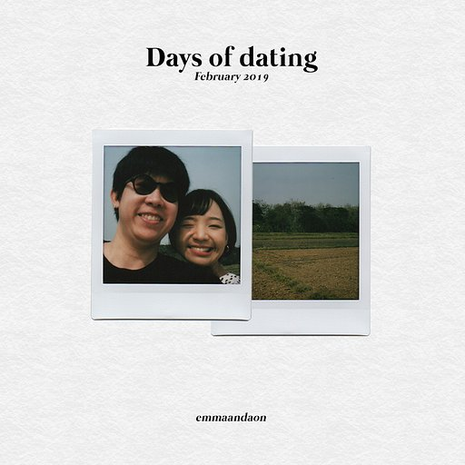 2019 Valentine's Day x Lomo'Instant Square: Days of Dating emmaandaon
