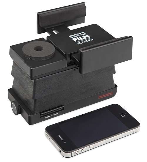 Lomopedia: Smartphone Film Scanner