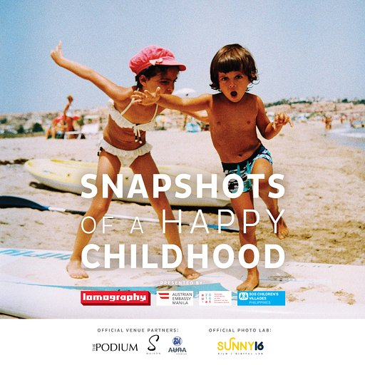 Philippines' Snapshots of a Happy Childhood Exhibition