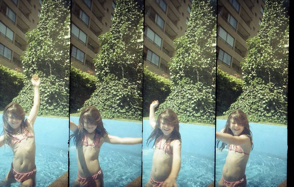Enjoying Summer in the Pool With the SuperSampler