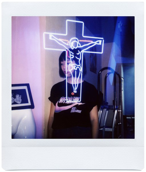 【Lomo'Instant Square】Charlie 與 BOUND BY HILLYWOOD 酒吧