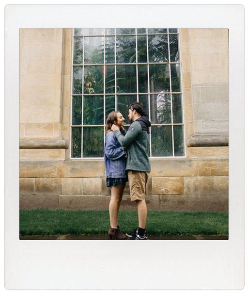 Sarah Longworth and the Lomo'Instant Square Glass