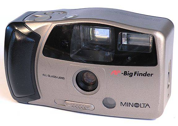 Minolta AF 35 Big Finder: My Party Camera