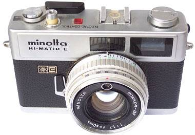Introducing the Minolta HI-Matic E