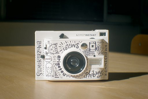 Illustrator Ella Lama Customizes the Lomo'Instant