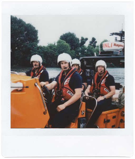 Meet the RNLI Volunteers with the Lomo'Instant Square