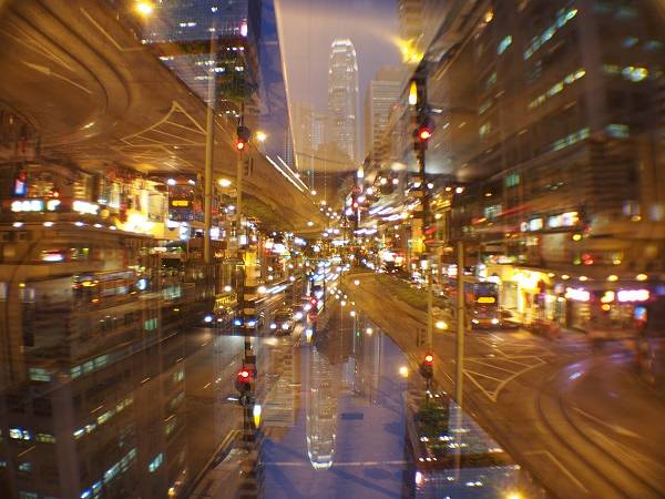 Multiple Exposure Shots Taken with Lomography Experimental Lens