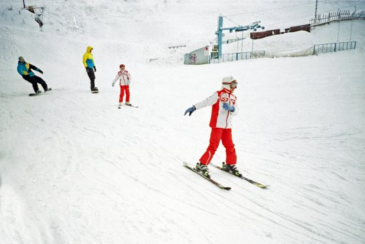 Analogue Shooting and Winter Sports – Double the Pleasure!
