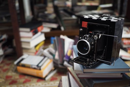 Refurbishing A Century-Old Camera with Lego