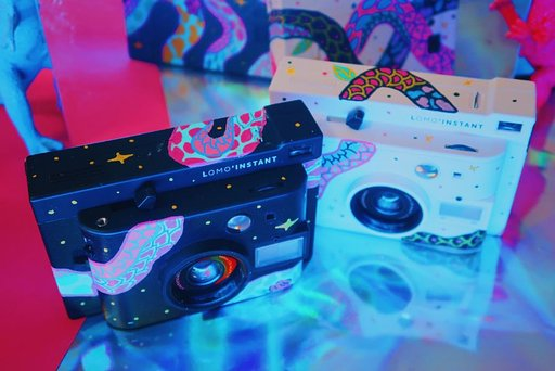 Win a Lomo'Instant White customized by Singaporean Artist Marina A!