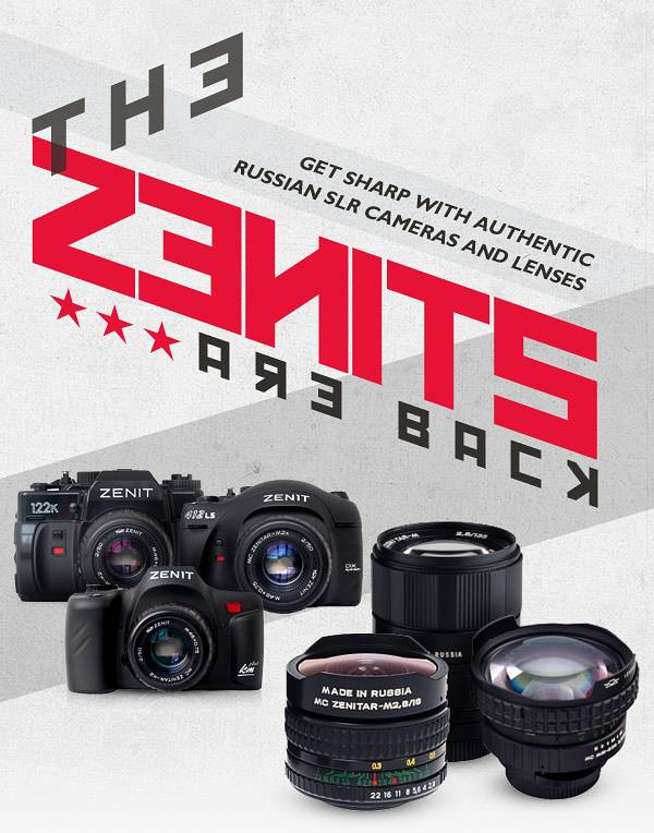From Russia With Love: The Zenit Cameras Available for Pre-Order