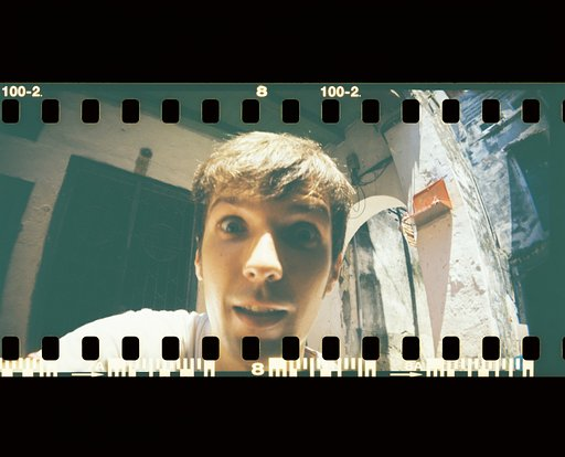 LomoAmigo Ernest Zacharevic shoots with a Sprocket Rocket