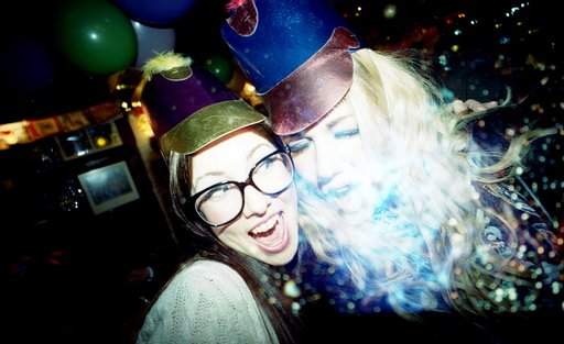 Welcoming the New Year -- Lomo Style!