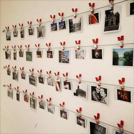 Make Your Own Instant Photo Wall!