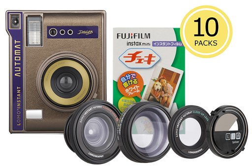 Save up to 20% on Instax Films and Shoot to your hearts content with the Lomo'Instant Automat Dahab Instax Bundles!