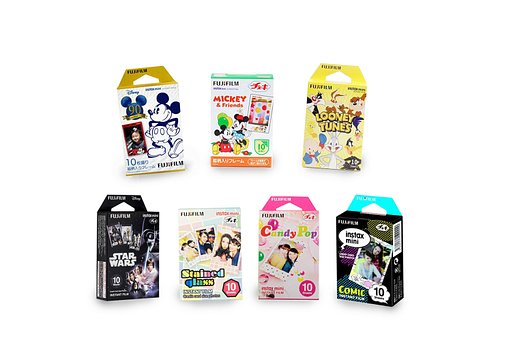 Add a little fun to your Instant mini snaps with different Fuji Instax Mini Special films!