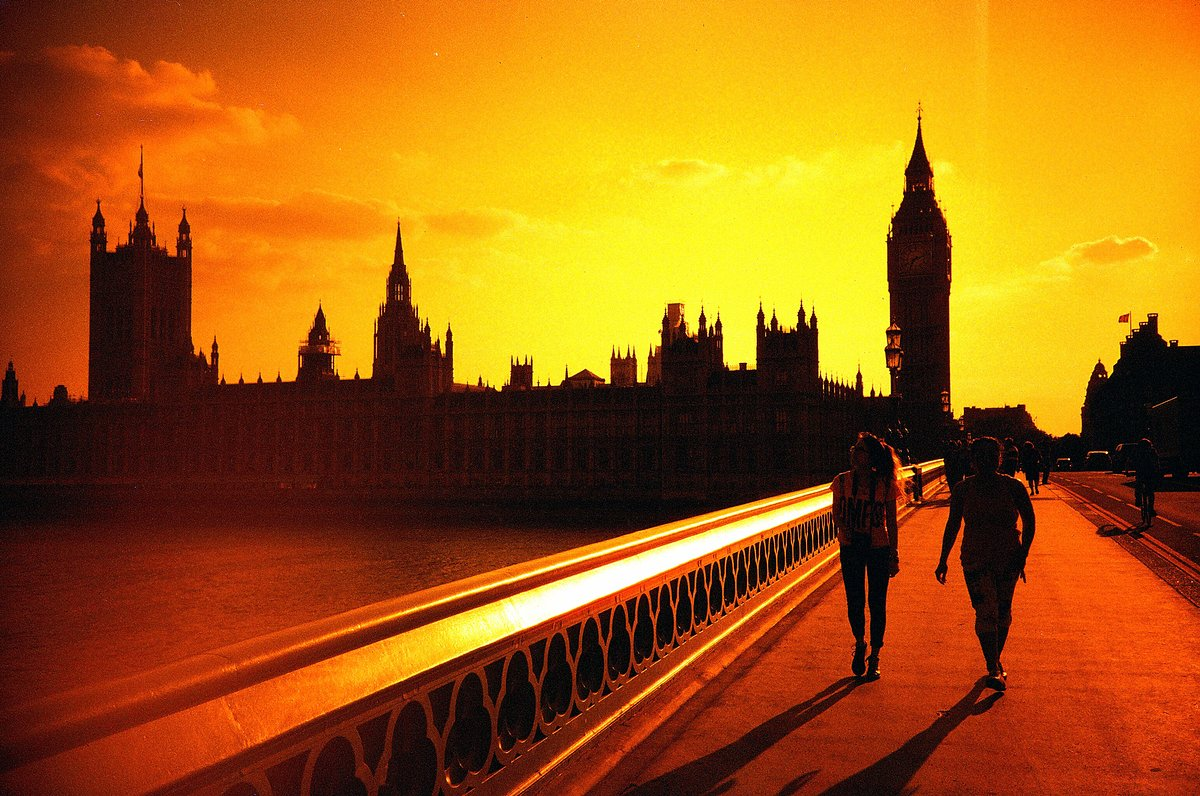 Sunset time in Westminster