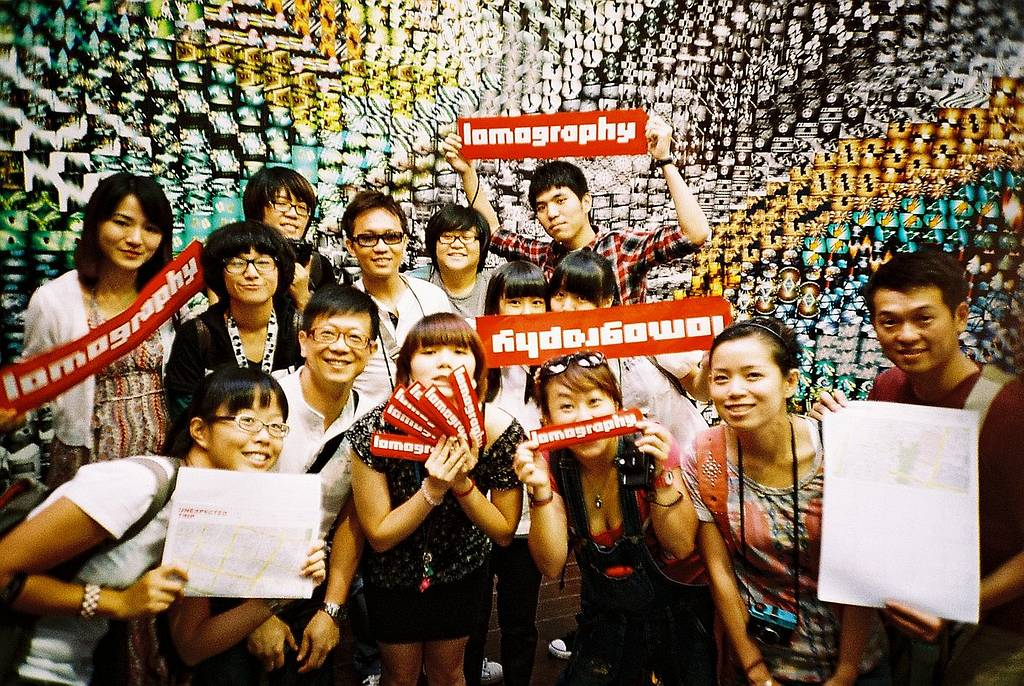 Happiest Moments: LomoWall in Lomography Taipei Embassy Store