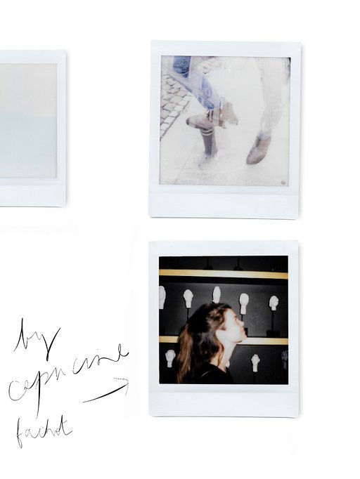 Capucine Fachot and the Lomo'Instant Square