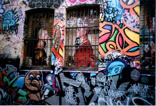 The Land Down Under: Melbourne's Graffiti Lane