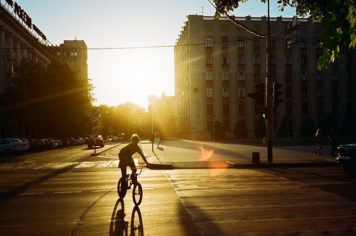 Lomographic Diaries: Life on the Pedal