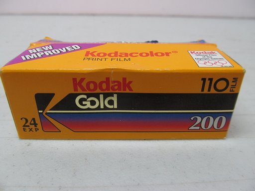 Film Review: Kodak 110 Gold 200