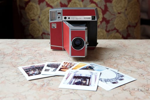 Lomo'Instant Square Glass Pigalle