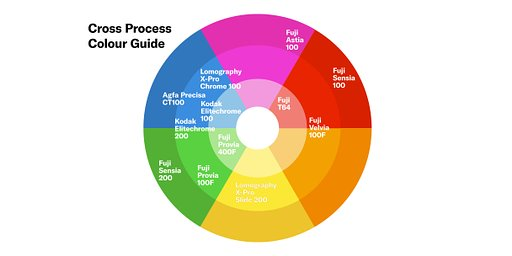 Cross Processing Color Guide