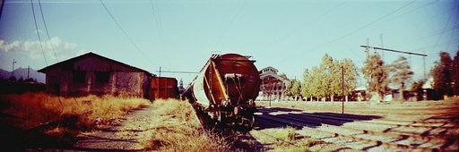 SoLocations: The Abandoned Rancagua's Railway Station