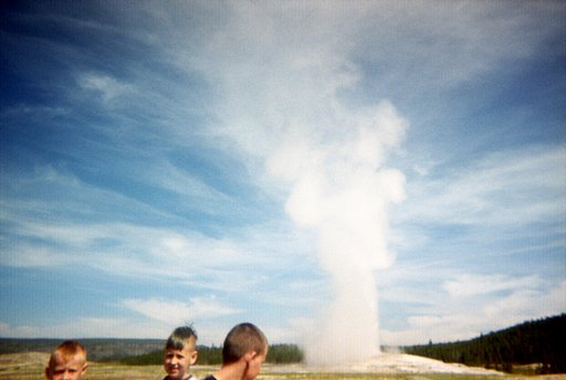 Old Faithful, Yellowstone, WY LomoStop #4